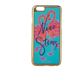 NEW Lilly Pulitzer Nice Stems iPhone 6 6s case